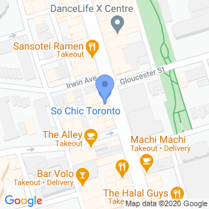 Cash Shop - Yonge St Map