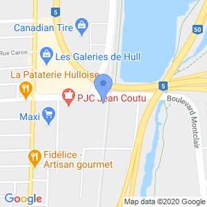 Houston Avenue Bar & Grill - Gatineau Map