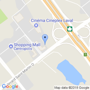 Houston Avenue Bar & Grill - Centropolis Map