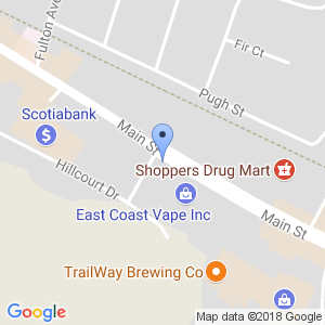 Brilliant Smokeshop  - Fredericton Map